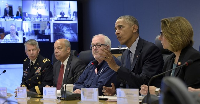 Obama wants to make sure people take storm threat seriously