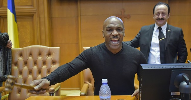 Romania: ex-boxer Mike Tyson calls for order