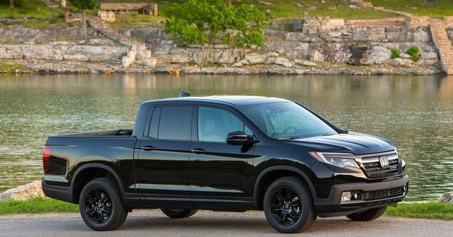 Fact sheet: 2017 Honda Ridgeline