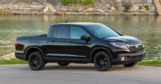 Honda brings back Ridgeline pickup for 2017, adds features