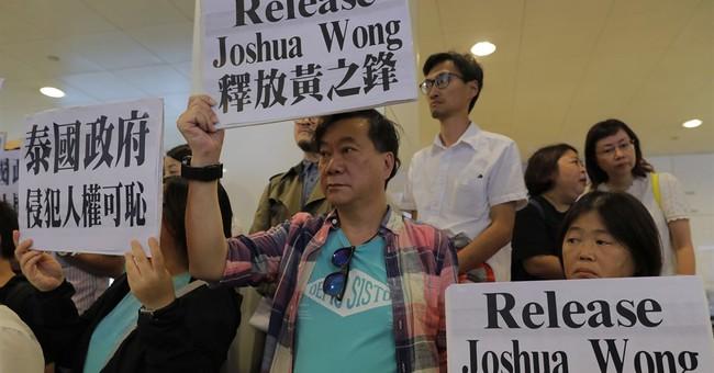 Thailand denies entry to teen Hong Kong activist Joshua Wong