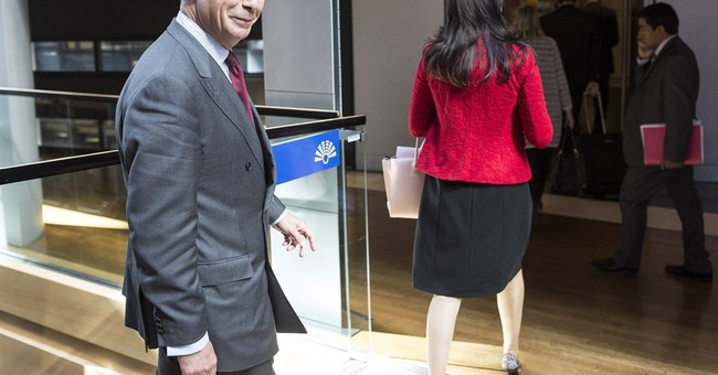 Nigel Farage says he is interim UKIP leader; won't run again