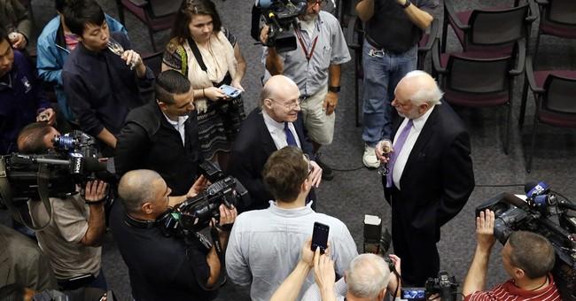 The Latest: Nobel winner Stoddart: Research is 'a long haul'