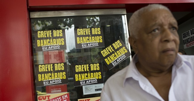 Brazilian bank strike reaches 1 month, longest in 12 years