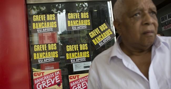 Brazilian bank strike reaches 1 month, longest in 12 years