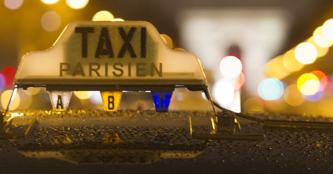 Paris taxi drivers protest for 3rd day