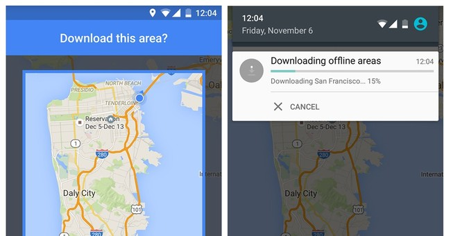 Review: Going offline with Google Maps