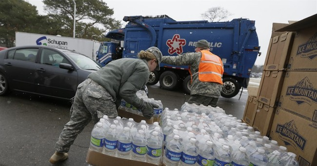 Spokesman: Fresh water in Flint state building was for all