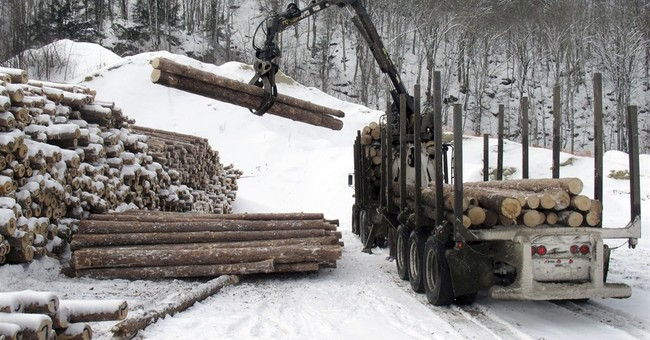 Waving goodbye to a piece of Americana _ the lumberjack