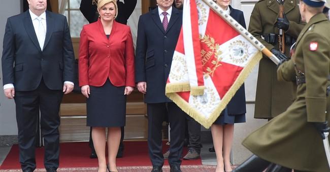 Croatian, Polish presidents discusses migrants, security