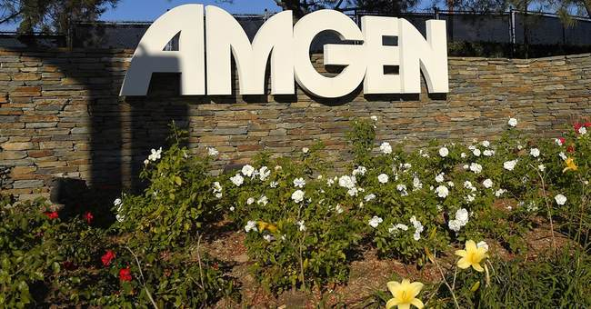 Amgen trounces Street views with 39 pct. jump in 4Q profit