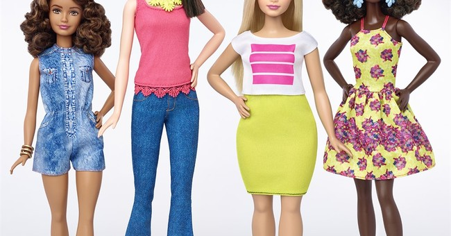 For the world's most scrutinized body, Barbie has a new look