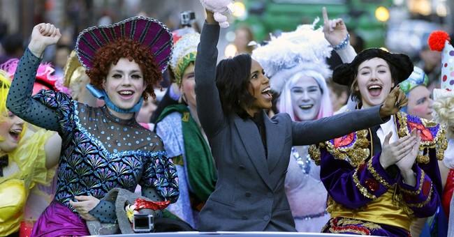 Kerry Washington feted with parade and roast at Harvard