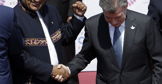 "The Latest: Colombian president says Zika ""is a big threat"""