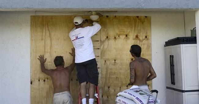 'I'll watch it on TV': Coastal residents fleeing hurricane