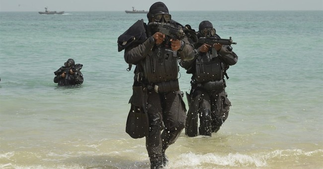 As Saudis hold naval drill, Iran general suggests regicide