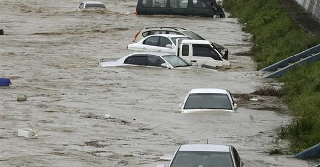 Typhoon kills 7 people in southeastern South Korea