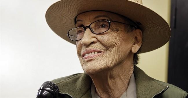 Nation's oldest park ranger receives Congressional award