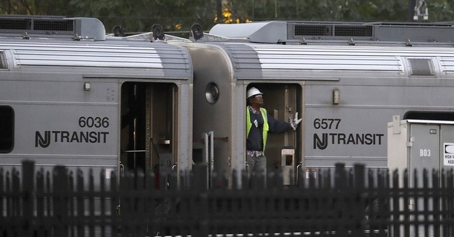 The Latest: Train service resumes after New Jersey crash