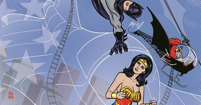 TV versions of 'Batman,' 'Wonder Woman' to meet in new comic