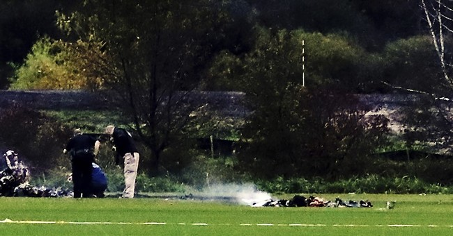 Officials: Helicopter broke apart before crashing, killing 2
