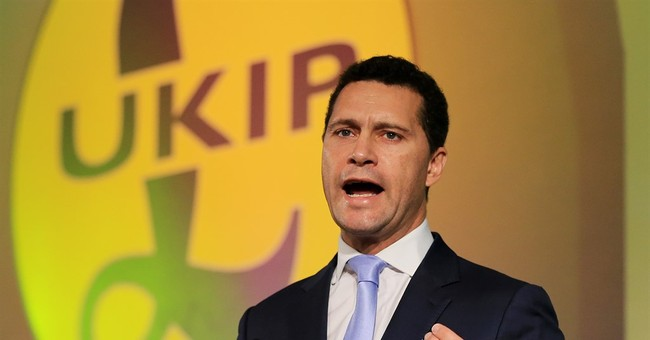 Injured UKIP legislator discharged from French hospital