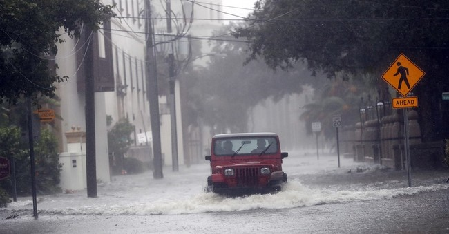The Latest: Hurricane Matthew causes North Carolina floods