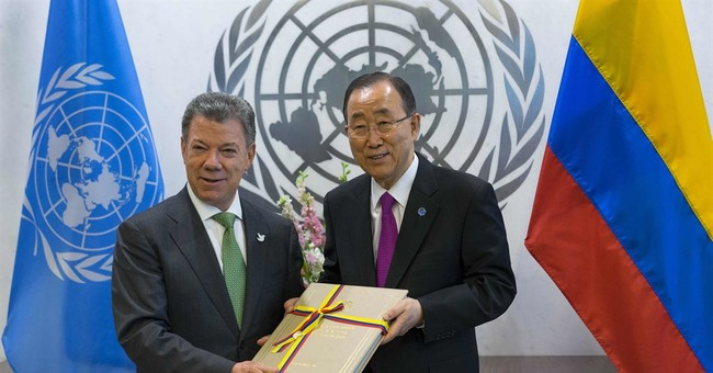 Nobel Peace Prize goes to Colombian President Santos