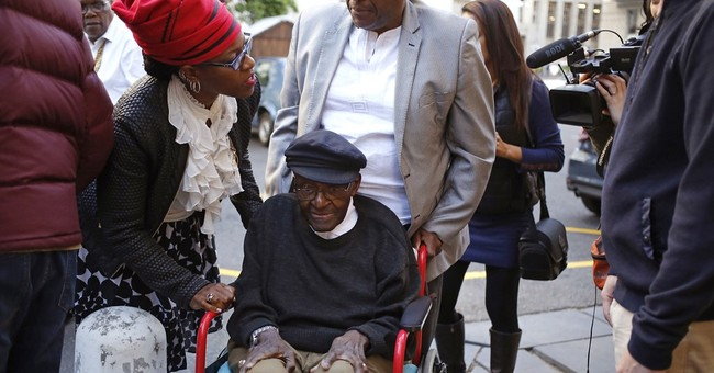 Nobel laureate Tutu celebrates 85th birthday, giving thanks