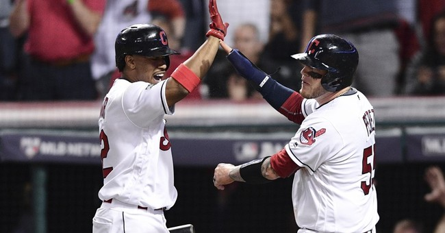 Indians hit 3 homers off Porcello, top Red Sox 5-4 in opener