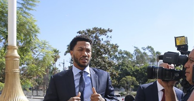 The Latest: Lawyer for NBA star Derrick Rose seeks mistrial