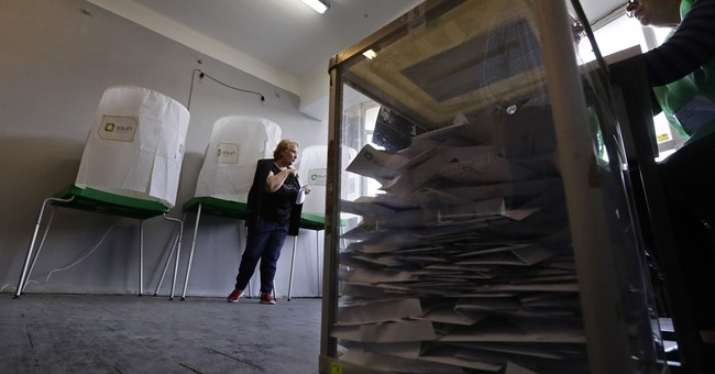 Exit polls: Georgian ruling party leads parliamentary vote