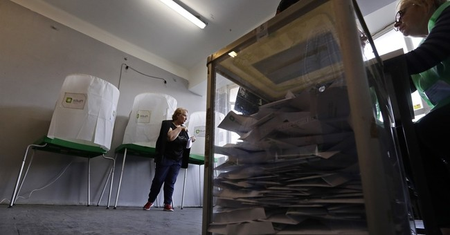 Governing party ahead in Georgia's vote count
