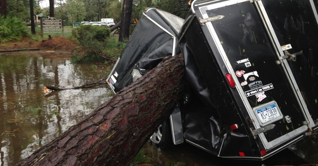 Residents of ritzy Hilton Head Island happy to be alive
