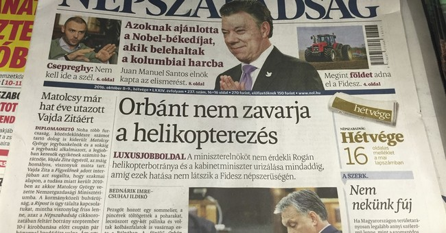 Hungary's left-wing paper suspended days after breaking news