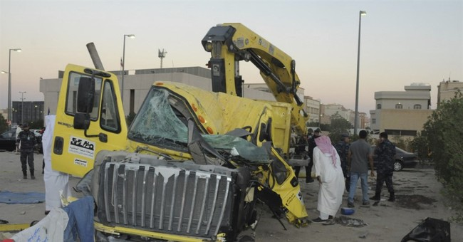 US troops rammed in Kuwait pulled attacker from truck
