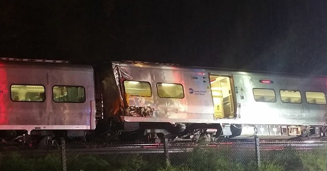 Train derails east of NYC; dozens suffer injuries