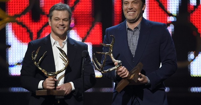Damon and Affleck resurrect 'Good Will Hunting' roles