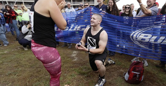 Maine couple wins beer, cash in wife-carrying competition