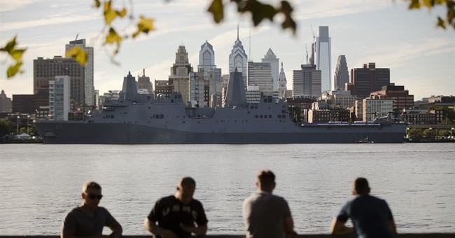 Navy commissioning honors ship's Pennsylvania namesake