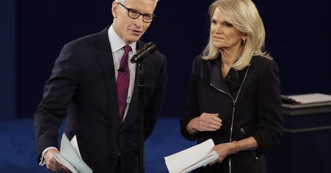Cooper, Raddatz tough during second presidential debate