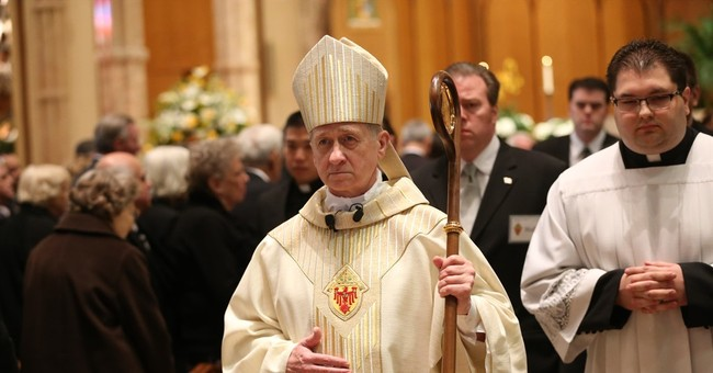 The Latest: Bishop learns from webcast of promotion
