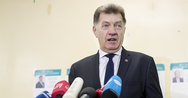 Agrarian party wins 1st round of Lithuania election
