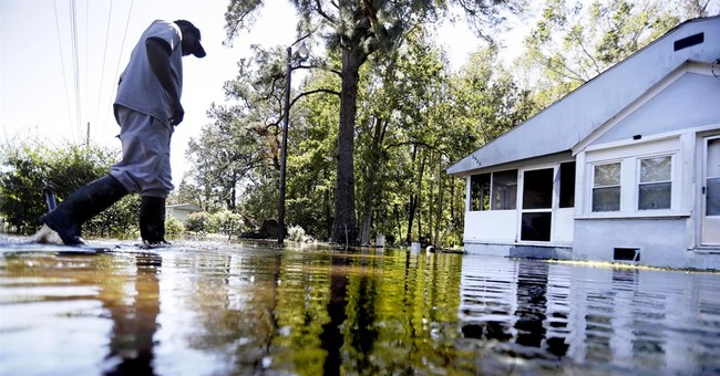 The Latest: 150 rescued from tiny South Carolina town