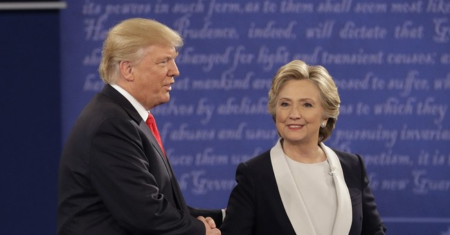 The Latest: Updates from the 2nd Clinton-Trump debate