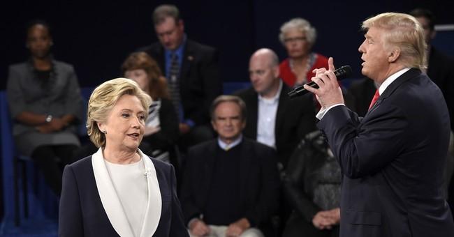 Takeaways: Trump aggressive, Clinton steady in tense debate
