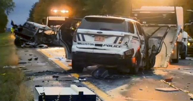 The Latest: Suspect in wrong-way crashes arrested