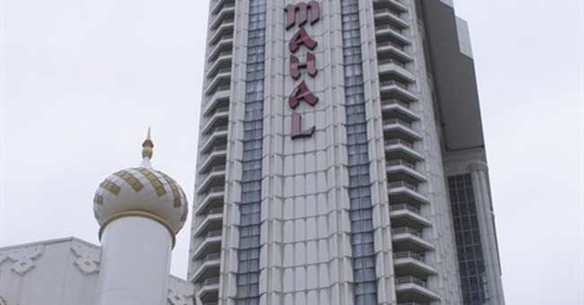 The Latest: Atlantic City's Trump Taj Mahal casino closes