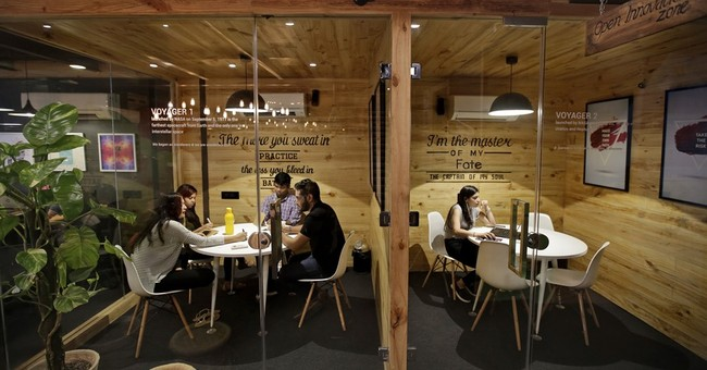 Shared workspaces hit the Indian startup scene