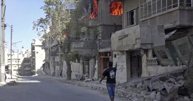 Medics plead for access to Syria's embattled Aleppo